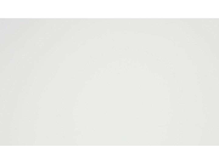 Biurko białe na drewnianych nóżkach 120 x 70 cm z szufladami styl skandynawski Płyta MDF Drewno Szerokość 120 cm Biurko komputerowe Kategoria Biurka