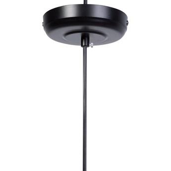 Beliani Lampa sufitowa wisząca miedziana metalowy klosz industrialny design sypialnia kuchnia