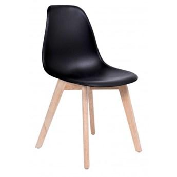 Krzesło skandynawskie ASTI DSW - czarny