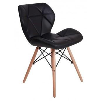Krzesło tapicerowane MURET DSW - czarny