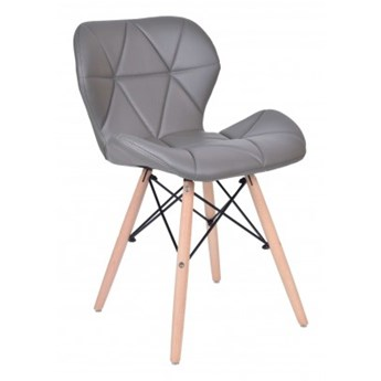 Krzesło tapicerowane MURET DSW - grafitowy