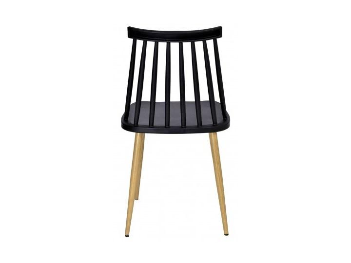 Krzesło KENDO czarne Tworzywo sztuczne Głębokość 37 cm Metal Szerokość 42 cm Wysokość 78 cm Kategoria Krzesła kuchenne