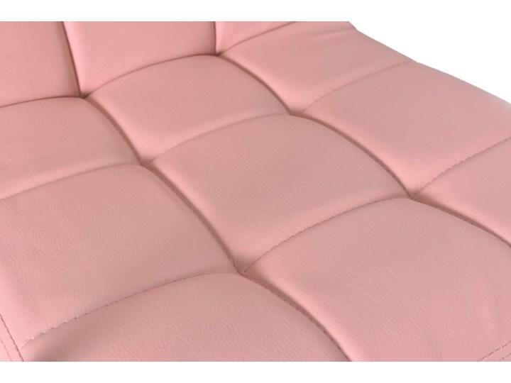 Fotel obrotowy Ritmo- różowy Głębokość 54 cm Szerokość 42 cm Głębokość 39 cm Metal Skóra ekologiczna Szerokość 54 cm Wysokość 98 cm Tkanina Kategoria Fotele do salonu