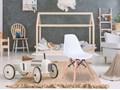 Krzesło Paris Kids DSW - biały Styl Skandynawski Drewno Metal Metal Drewno Tworzywo sztuczne Tworzywo sztuczne Metal Tworzywo sztuczne Drewno Styl Nowoczesny