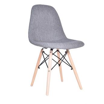 Krzesło nowoczesne Boston - szary