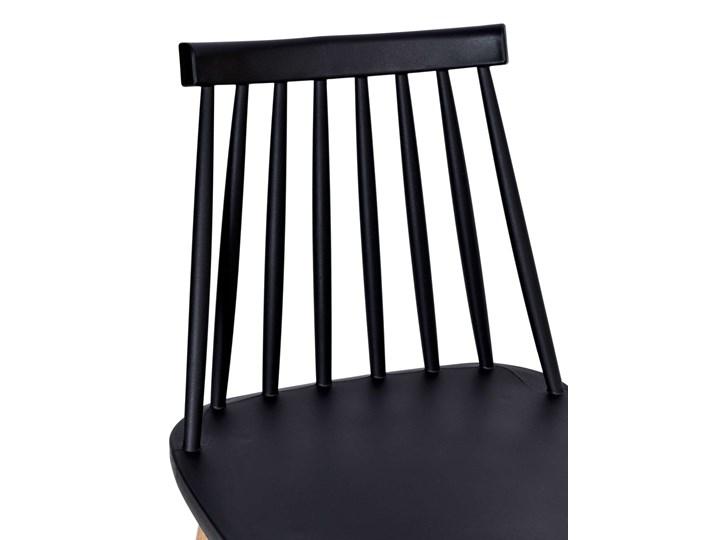 Krzesło KENDO czarne Głębokość 37 cm Szerokość 42 cm Wysokość 78 cm Kategoria Krzesła kuchenne Tworzywo sztuczne Metal Styl Skandynawski