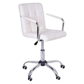 Fotel obrotowy Ritmo - biały