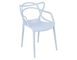 Krzesło LILLE w stylu Masters szary
