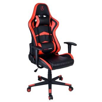Fotel gamingowy biurowy SHADOW GAMER czarno-czerwony