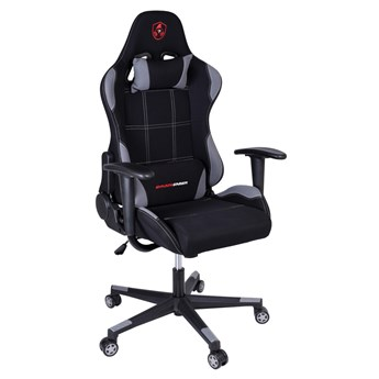 Fotel gamingowy biurowy SHADOW GAMER czarno-szary