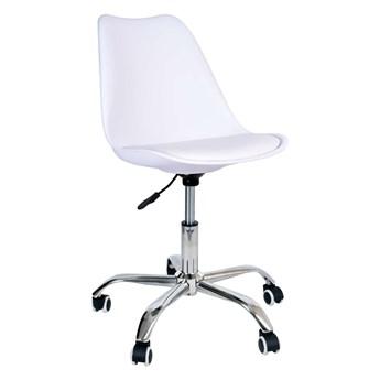 Fotel obrotowy Elmo - biały