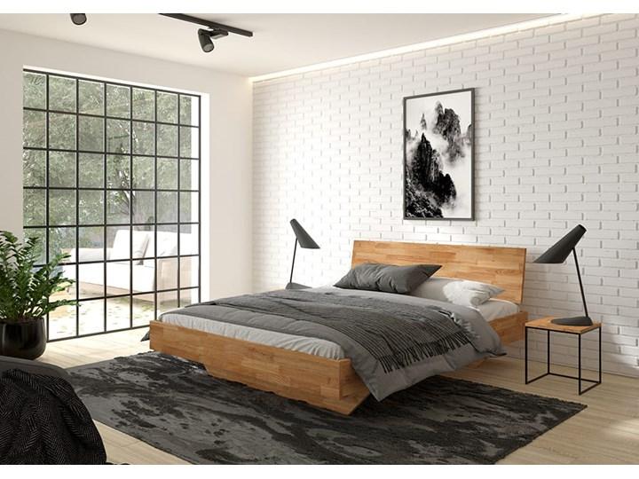 Łóżko dębowe FLOW Classic (160x200) Soolido Meble Rozmiar materaca 140x200 cm Łóżko drewniane Kolor Brązowy