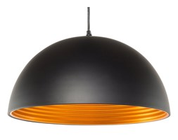 BELIANI Lampa wisząca metalowa czarna GRAND