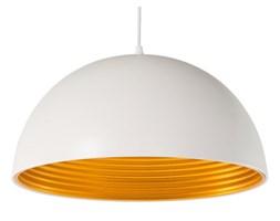 BELIANI Lampa wisząca metalowa biała matowa GRAND