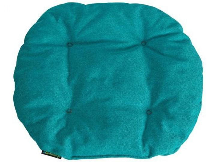 poduszki na krzesła kuchenne turkusowe