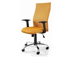 Fotel Biurowy BLACK ON BLACK - Żółty