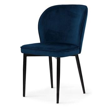Krzesło AINE - Granatowy