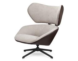 Fotel Bonucci Nowoczesny Designerski fotel slow malabo - Biały