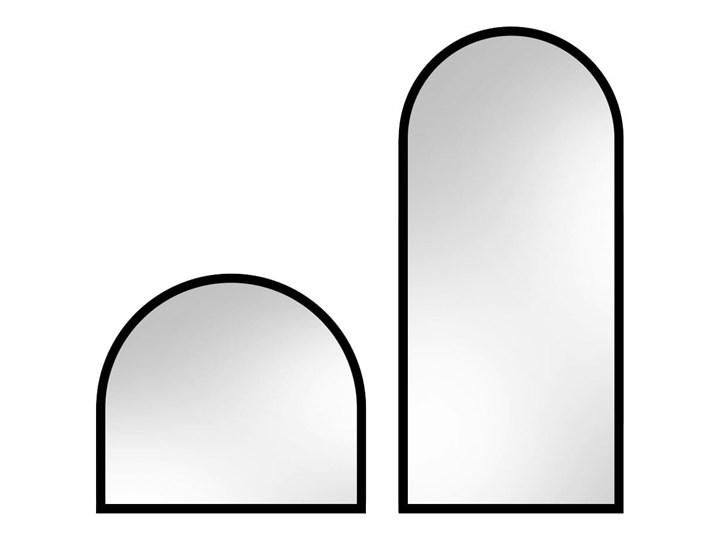 Lustro Portal – złoty łuk Styl Nowoczesny Ścienne Lustro z ramą Nieregularne Pomieszczenie Sypialnia