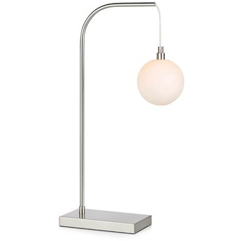 Lampa stołowa Buddy srebrna, Markslöjd