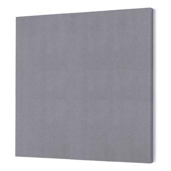 Panel dźwiękochłonny POLY, kwadrat, 1180x1180x56 mm, jasnoszary