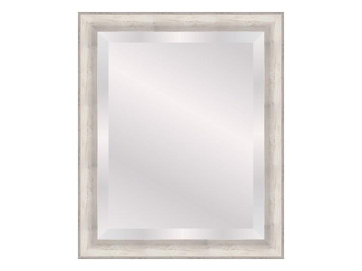 Lustro prostokątne Acuna 40 x 50 cm w ramie szare