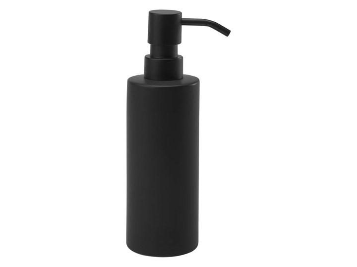 Dozownik do mydła Aquanova FORTE black Dozowniki Kolor Czarny
