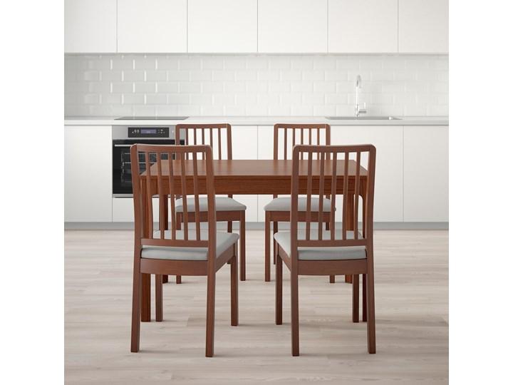 EKEDALEN / EKEDALEN Stół i 4 krzesła Kolor Brązowy Kategoria Stoły z krzesłami