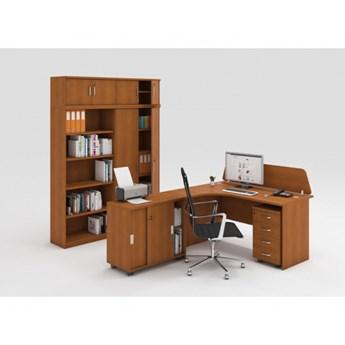 Zestaw mebli biurowych MIRELLI A+, typ C, czereśnia