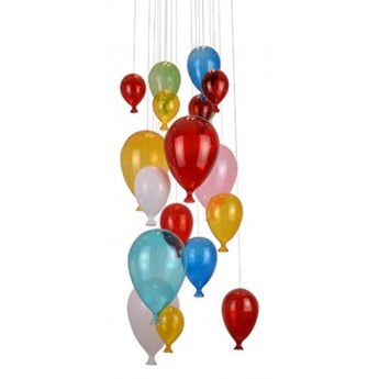 Azzardo Balloon (Md501504) AZ2164 lampa plafon szkło