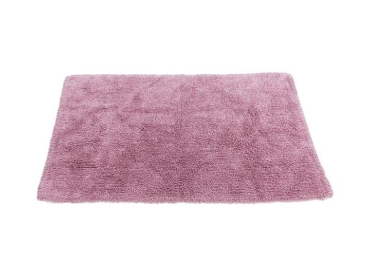 Dywanik łazienkowy Cooke&Lewis Diani bawełniany 50 x 80 cm wrzos 50x80 cm Prostokątny Bawełna Kategoria Dywaniki łazienkowe