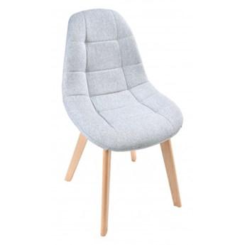 Krzesło tapicerowane AUSTIN szary
