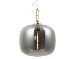 Elegancka złota lampa BIANCA przydymiony klosz art deco MD1180-ABS/SE