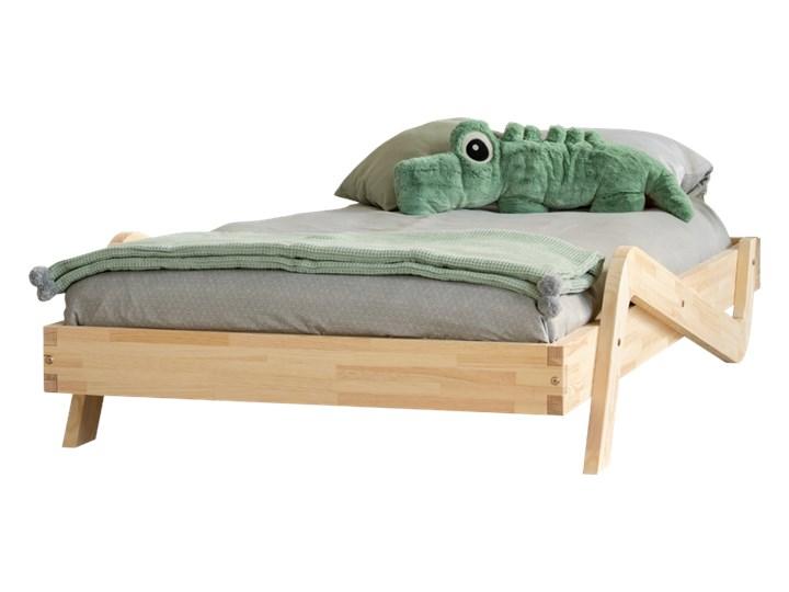 SELSEY Łóżko Sabris młodzieżowe z drewna Drewno Rozmiar materaca 100x200 cm Tradycyjne Rozmiar materaca 80x150 cm