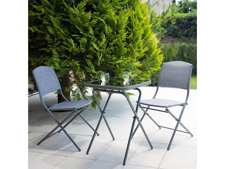 SELSEY Zestaw ogrodowy Dolore stół z dwoma krzesłami Stoły z krzesłami Zawartość zestawu Stolik Kategoria Zestawy mebli ogrodowych