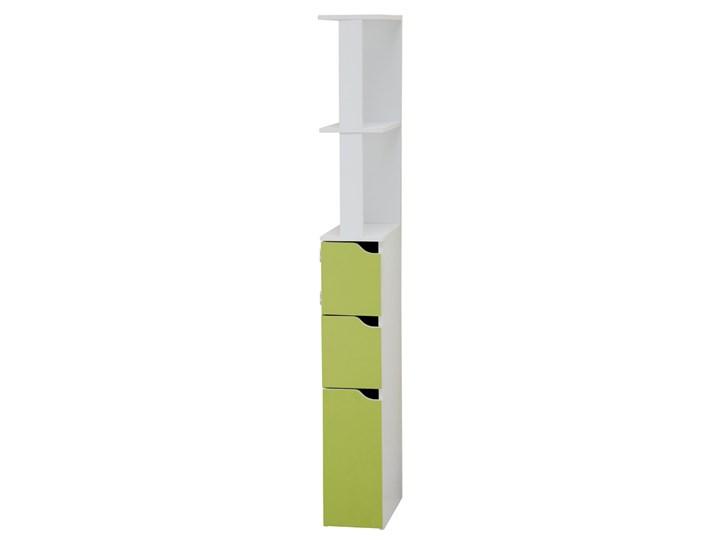 Selsey Regał łazienkowy Carinda zielony