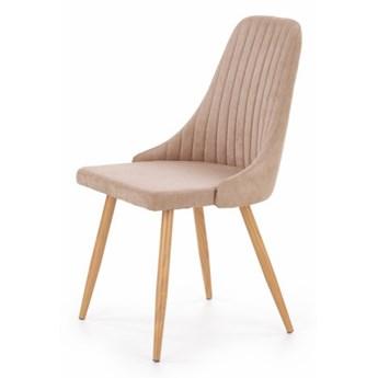 SELSEY Krzesło tapicerowane Muela beżowe