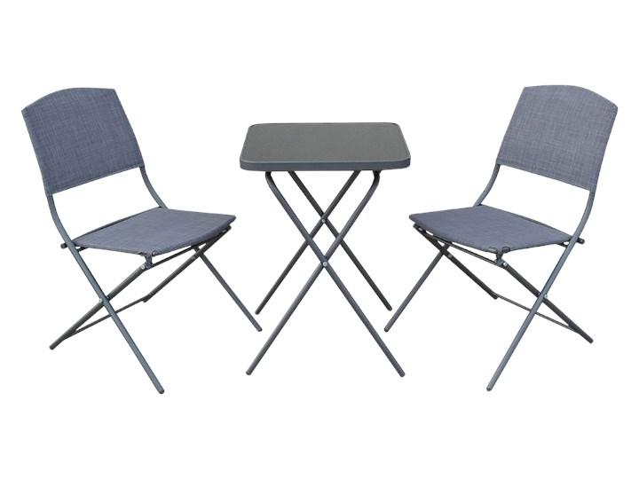 SELSEY Zestaw ogrodowy Dolore stół z dwoma krzesłami Stoły z krzesłami Kategoria Zestawy mebli ogrodowych Zawartość zestawu Stolik