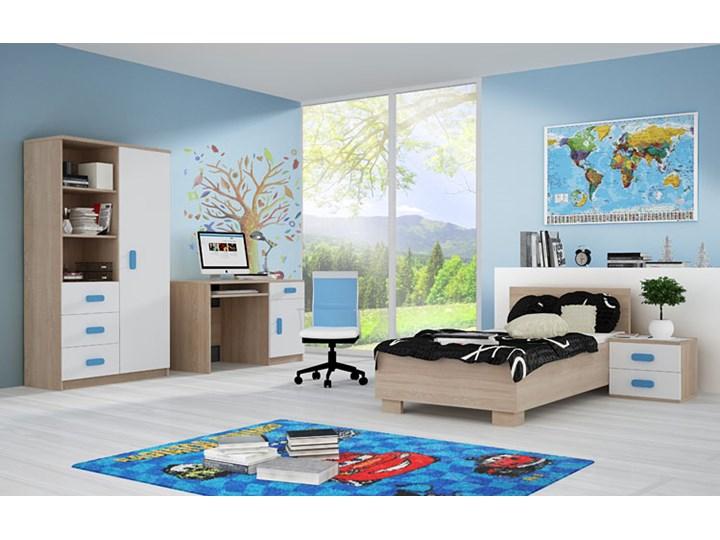 Pojedyncze łóżko jednoosobowe bez pojemnika Florentino 15X - białe Łóżko drewniane Kolor Biały