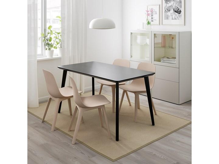 LISABO / IDOLF Stół i 4 krzesła Kategoria Stoły z krzesłami Kolor Czarny