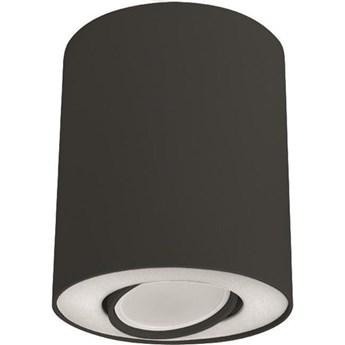 Spot sufitowy tuba SET czarny/biały śr. 10cm