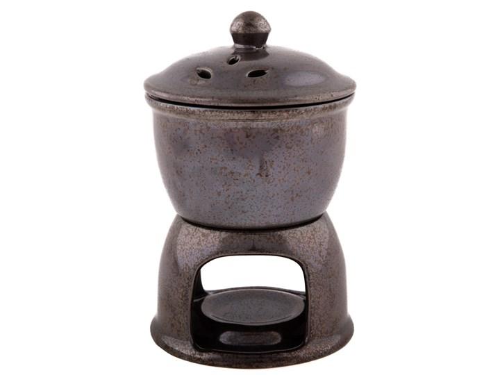 Ceramiczna lampa zapachowa i piec do jabłek 2w1, ciemnoszary