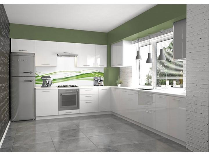 Kuchenna szafka dolna Limo 2X - biała Płyta MDF Kolor Biały