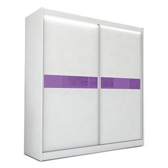 Szafa przesuwna Lea 4X- biała lacobel