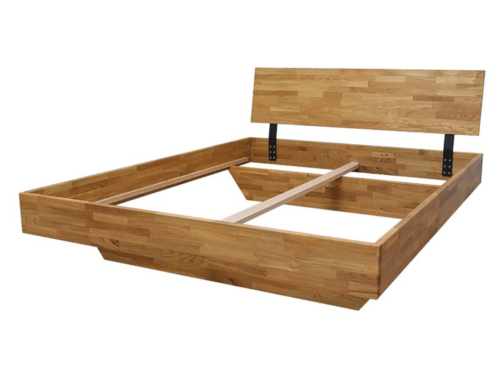 Łóżko dębowe FLOW Classic (140x200) Soolido Meble Łóżko drewniane Rozmiar materaca 140x200 cm