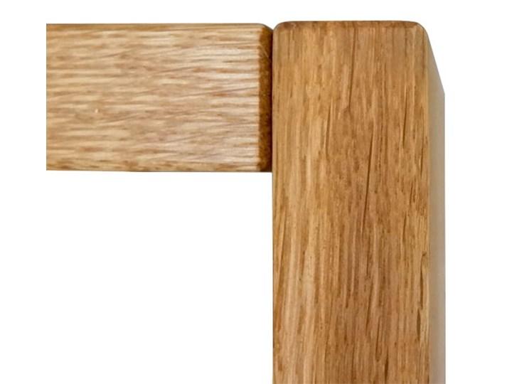 Łóżko dębowe FLOW Style (140x200) Soolido Meble Łóżko drewniane Kolor Brązowy Kategoria Łóżka do sypialni