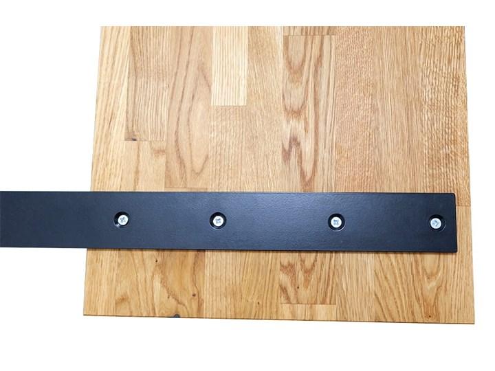 Łóżko dębowe FLOW Style (180x200) Soolido Meble Łóżko drewniane Rozmiar materaca 140x200 cm Kolor Szary