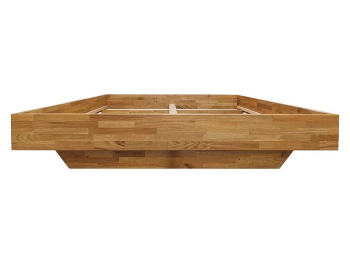 Łóżko dębowe FLOW  (180x200) Soolido Meble Łóżko drewniane Kategoria Łóżka do sypialni