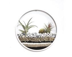 """Kwietnik ścienny """"Circle planter"""" - rozmiar L Snow White"""