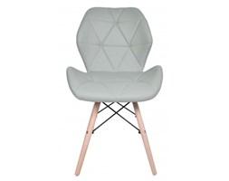 Krzesło nowoczesne Magnolia - szare